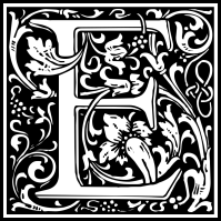 william-morris-letter-e