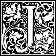 william-morris-letter-j