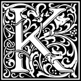 william-morris-letter-k