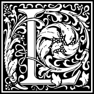 william-morris-letter-l