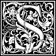 william-morris-letter-s