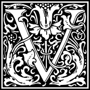 william-morris-letter-v