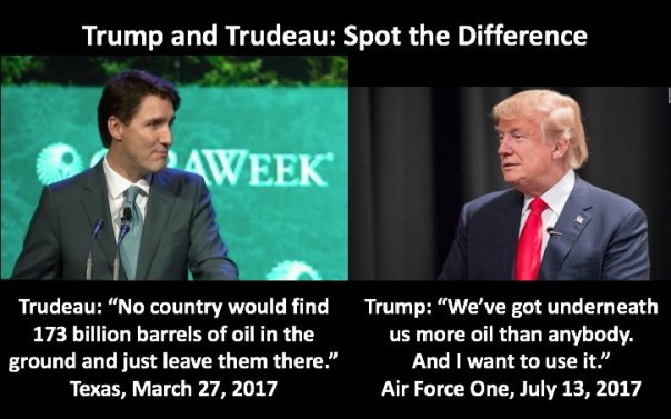 Trump & Trudeau