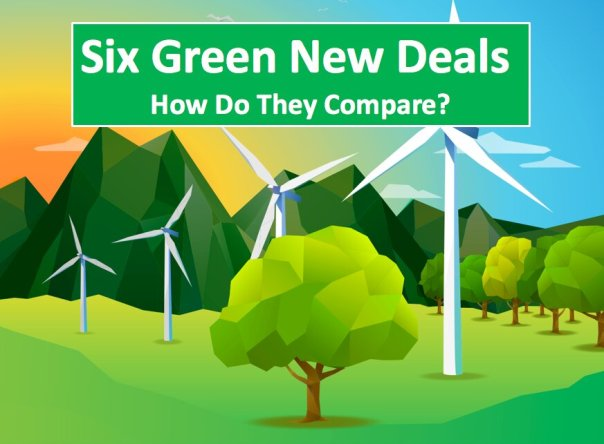 Six Green New Deals